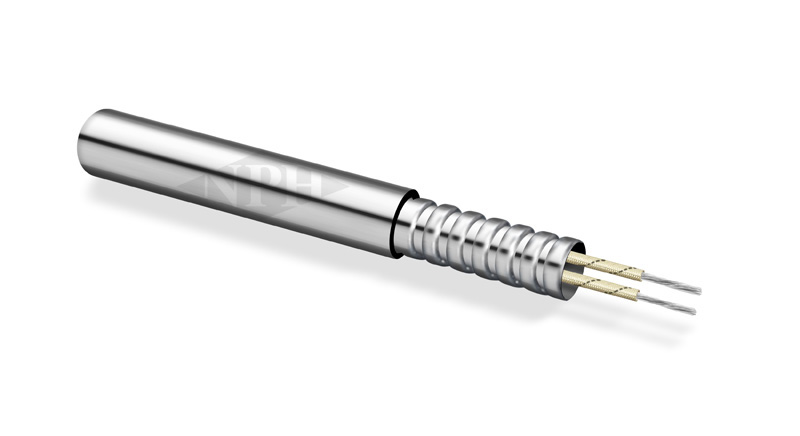 Cartridge Heaters with Stainless Steel Hose (Armor Cable)