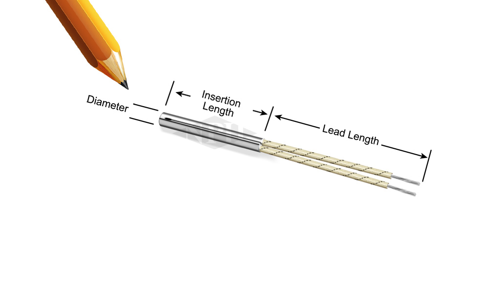 Small Diameter, Miniature Pencil Heaters